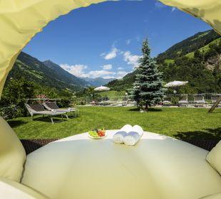 Ausblick Hotel Alpenhof Passeiertal