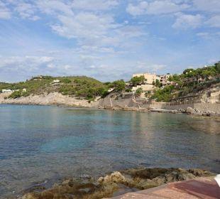 Zugang zum Meer  Olimarotel Gran Camp de Mar