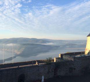 Blick aus meinem Zimmer Hotel Schloss Waldeck
