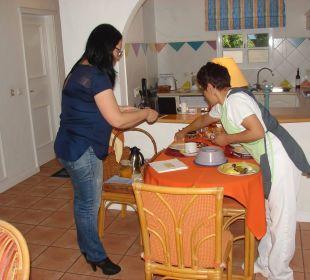 Frühstücksservice Villa Opuntia