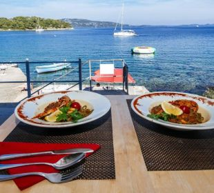 Restaurant mit traumhaftem Ausblick Pension Villa Baroni