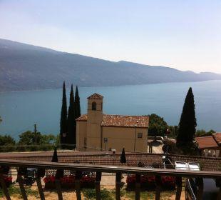 Aussicht vom Balkon Hotel Bellavista