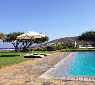 Der Pool / immer freie liegen Hotel Elounda Beach