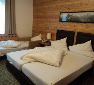 3-Bett Zimmer Hotel Bon Alpina