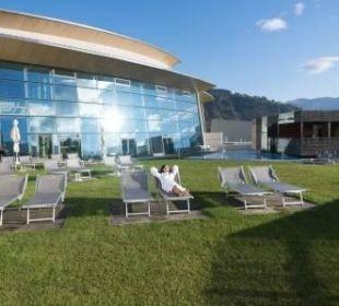 Liegenbereich outdoor Hotel Tauern Spa Zell am See-Kaprun