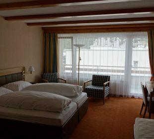 Unser Zimmer im 5. Stock Sunstar Alpine Hotel Lenzerheide