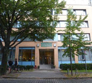 Vorderansicht des Hotels Comfort Hotel Weißensee