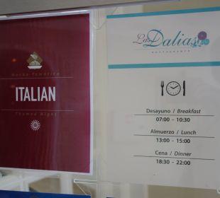 Restaurant (Motto Italien) Grand Bahia Principe Cayacoa