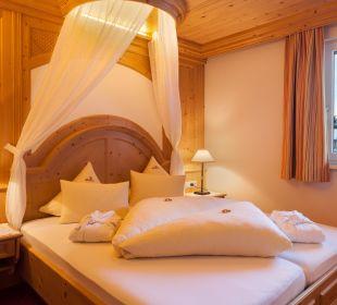 """Suite """"Bergkristall"""" Schlafzimmer Hotel Bergkristall"""