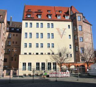 Rückfront des Hotels Hotel Victoria Nürnberg