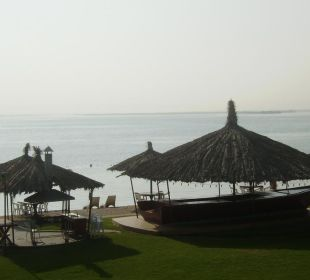 Blick aufs Wasser Hotel Flamingo Beach Resort