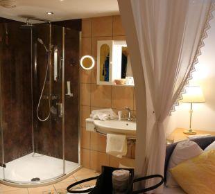 Liebesnest mit offenem Badezimmer Hotel Bergkristall