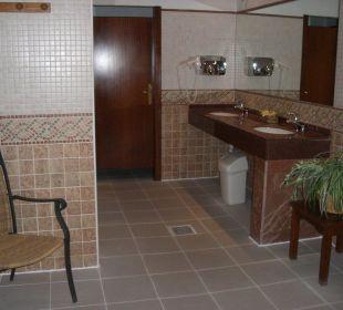 Umkleideraum für Damen mit Duschen Hotel Don Antonio