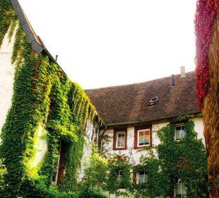 Außenansicht vom Innenhof Hotel Goethe