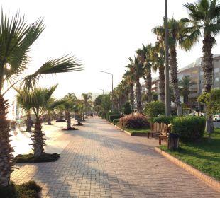 Strandpromenade Kleopatra Melissa Hotel