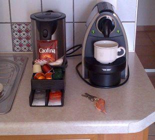 Kaffeemaschine und Wasserkocher La Barca Blu  Hotel