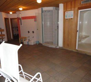 Saunabereich Glacier Hotel Grawand