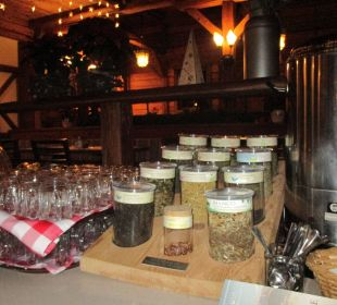 Diverse Teesorten zum Frühstück ENZIANA Hotel Vienna