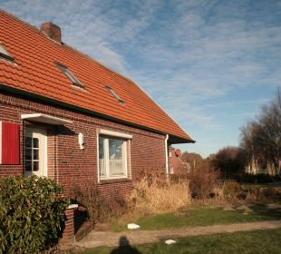Eingang zu den Ferienwohnungen Birkenhof Neuharlingersiel