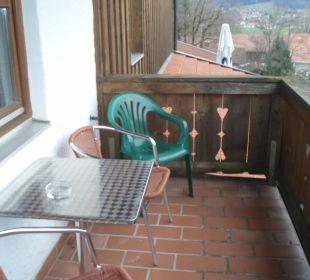 Der Balkon Hotel Emer Hof