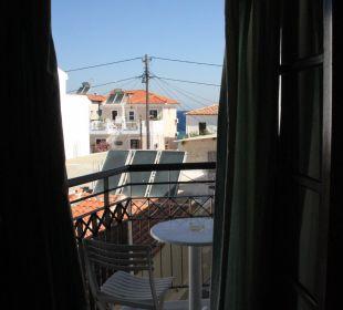 Balkon Zimmer 6 Hotel Kalidon