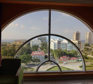 Ausblick aus Fenster Hotel Quinta Avenida Habana