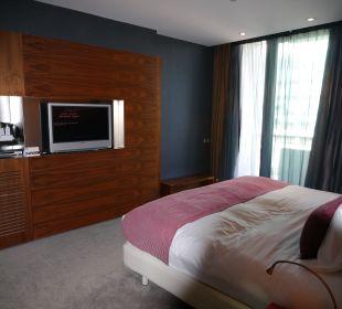 Спальная комната Hotel Pullman Barcelona Skipper