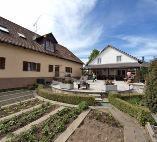 Gartenanlage Familienbauernhof Dirnberger