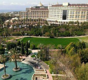 Blick vom zimmer Hotel Concorde De Luxe Resort