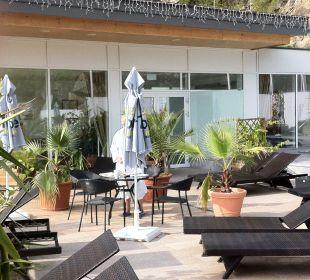 Wellnessbereich Outdoor Gartenhotel Pfeffel