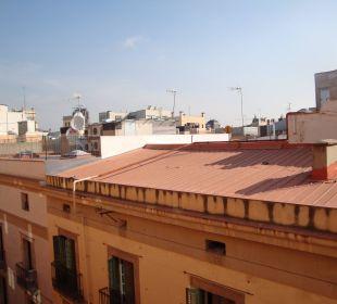 Ausblick 5.Etage NH Barcelona Centro
