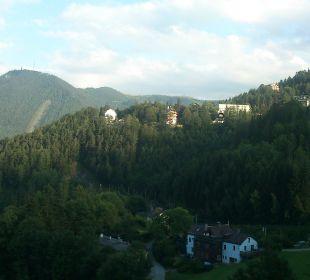 Blick auf Semmering-Villen Hotel Panhans