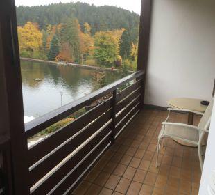 Ausblick aus Einzelzimmer zum See Romantischer Winkel SPA & Wellness Resort