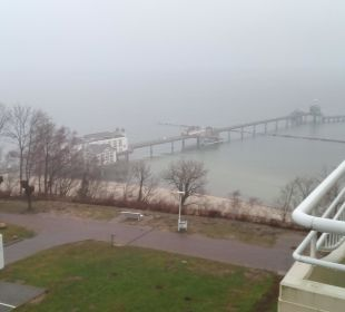 Nur das Wetter passte leider nicht Hotel Bernstein Rügen