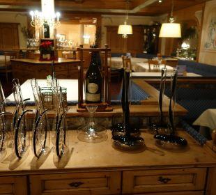 Für den feinen Tropfen... Leading Family Hotel & Resort Alpenrose