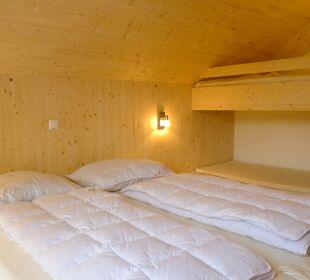 Zimmer mit zusätzlichem Stockbett Chalet Triebenstein