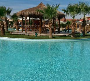 Pool an den Restaurants