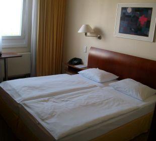 Doppelbett Globana Airport Hotel