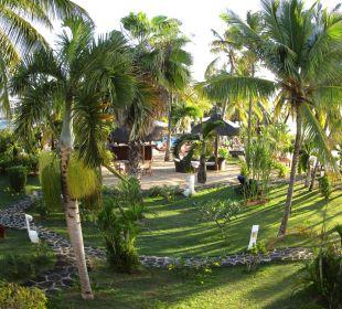 Sicht vom Balkon Coral Azur Beach Resort