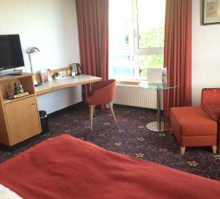 Zimmer Mövenpick Hotel Nürnberg Airport
