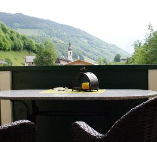 Balkon-Loggia FeWo Arnika Gästehaus Martinsklause