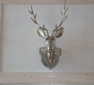 Dekoration im Kaminzimmer Bergidylle Harz - Suites