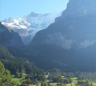 Zimmerausblick Sunstar Alpine Hotel Grindelwald