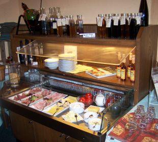 Frühstücksbuffet Hotel Kromberg