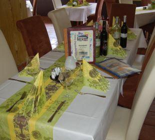 Speisen und Trinken vom feinsten Hotel Lanz