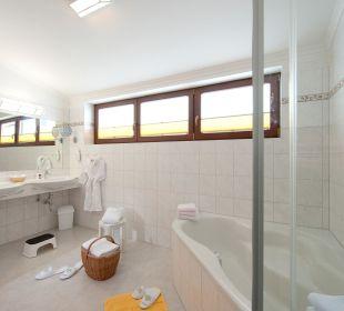 Badezimmer Familotel Seitenalm