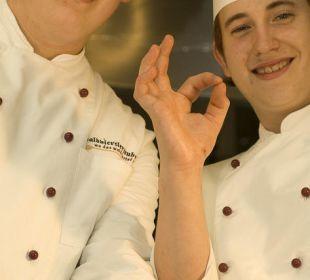 Die Köche Michael und Mathias Faulenzerhotel