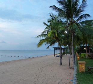Strand vor dem Hotel Sea Sand Sun Resort