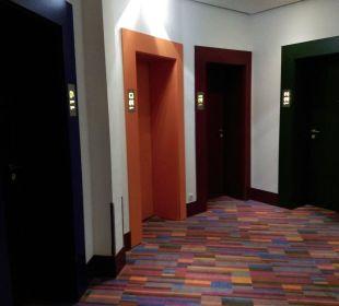 Flur im 1.Stock Hotel Klee