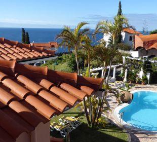 Blick auf den kleinen suaberen Pool Villa Opuntia